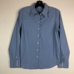 Izod Button Dress Shirt Size L